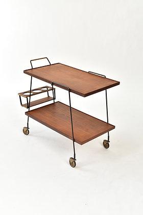 Mid-Century Teak Trolley
