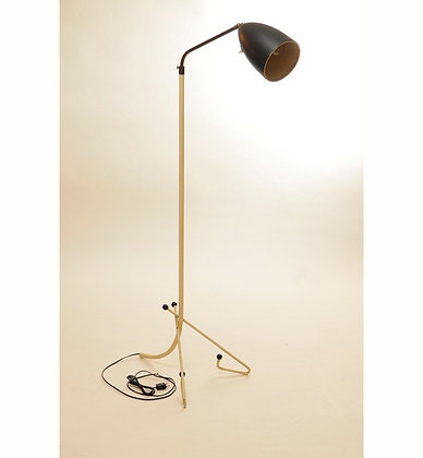 50's Stehlampe höhenverstellbar