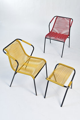 Set Spaghetti Stühle