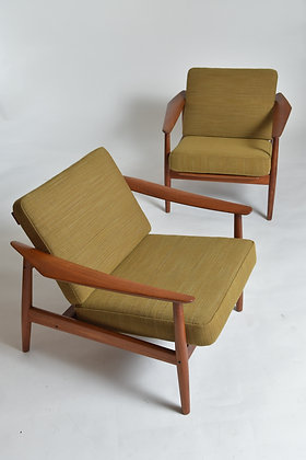 Arne Vodder Lounge Chairs
