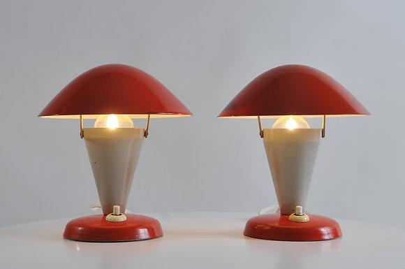 30s Pilzlampen (Paar)