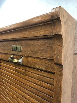 Rollladenschrank / Lateralschrank in Eiche