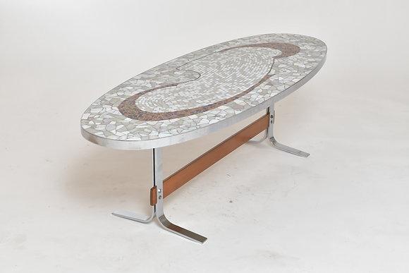 60s Mosaik Couchtisch
