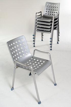 Hans Coray 4er Set Landi Stühle