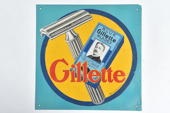 Gillette Werbetafel