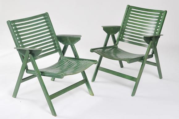 2 Lounge Chairs Rex