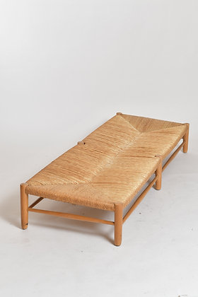 50s Rattan Daybed