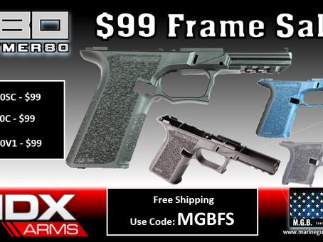 $99 Frame Sale