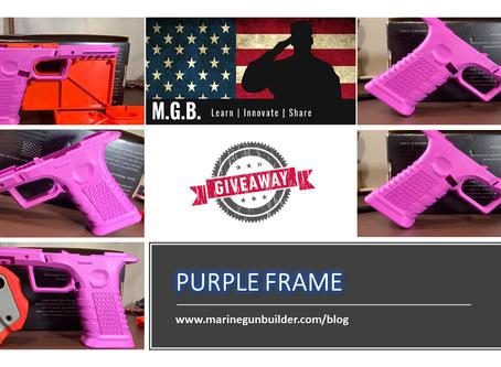 Purple Frame Giveaway!