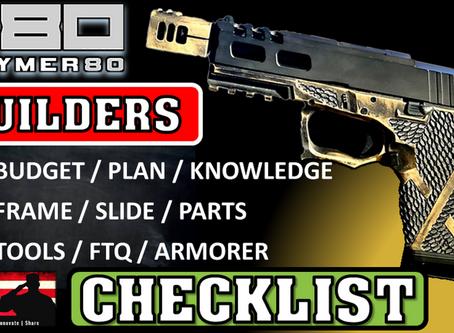 P80 Builders Checklist
