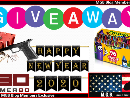 MGB New Years 2020 Giveaway!