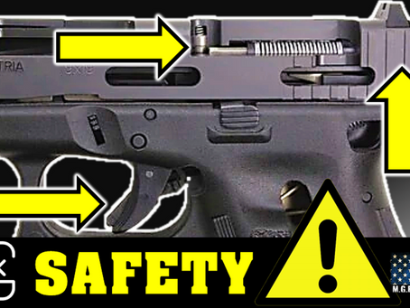 Glock Safety Checks - Glock Build Safety