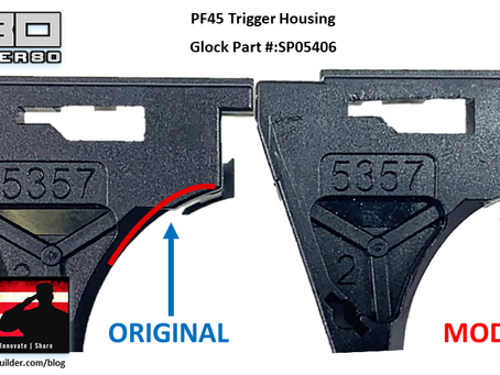 P80 PF45 Trigger Housing Fix