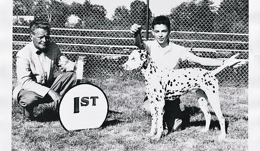 Ken Baechtold, a dog trainer from the age of 9