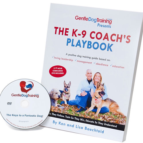 The K-9 Coach's Playbook & DVD Combo