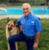 Ken Baechtold, Owner and Dog Trainer, Aggression and Anxiety Specialist, has a special relationship with German Shepherds