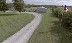 Driveway & climate-controlled studio