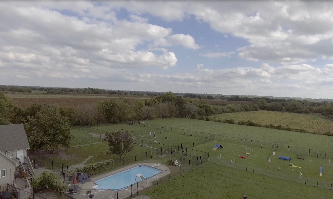 Aerial view, Gentle Dog Training.com