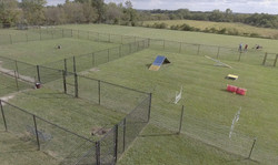 Play yards & agility course