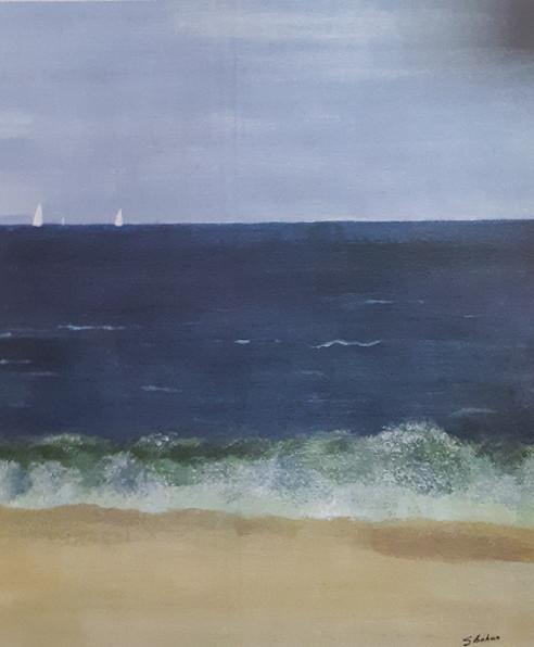 White Sails on the Horizon