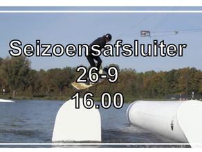 26 september @ Seizoensafsluiter, De Berendonck, Wijchen