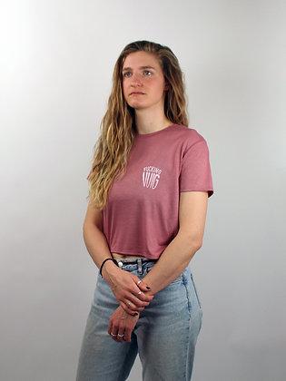 V.U.I.G. crop top pink