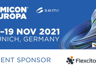 Flexciton to present at the Fab Management Forum in Munich for Semicon Europa 2021