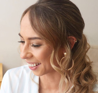 Side Style with Curls