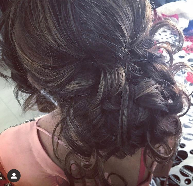Loose Up Do Hairstyle