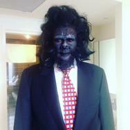 SFX Gorilla Makeup and Wig
