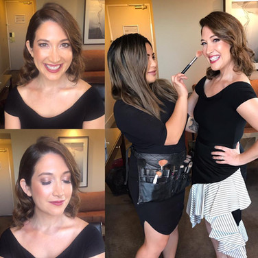 Randi Zuckerberg's Hair and Makeup