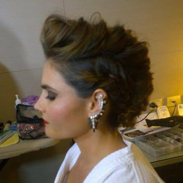 Sarah's Funky Hairstyle