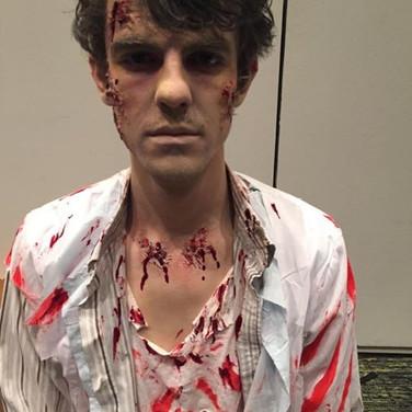 SFX Zombie Makeup for JB HiFi