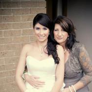 Sarah and Her Mum's Wedding Makeup