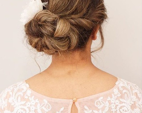 Bridal UpDo Back View
