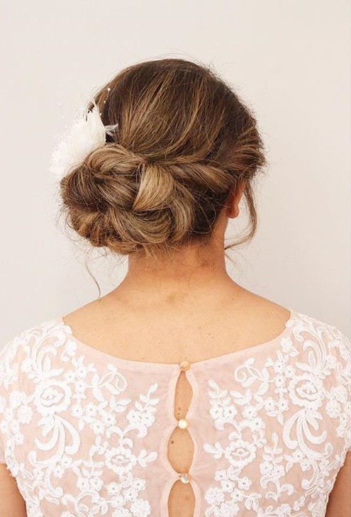 Bridal UpDo Back View