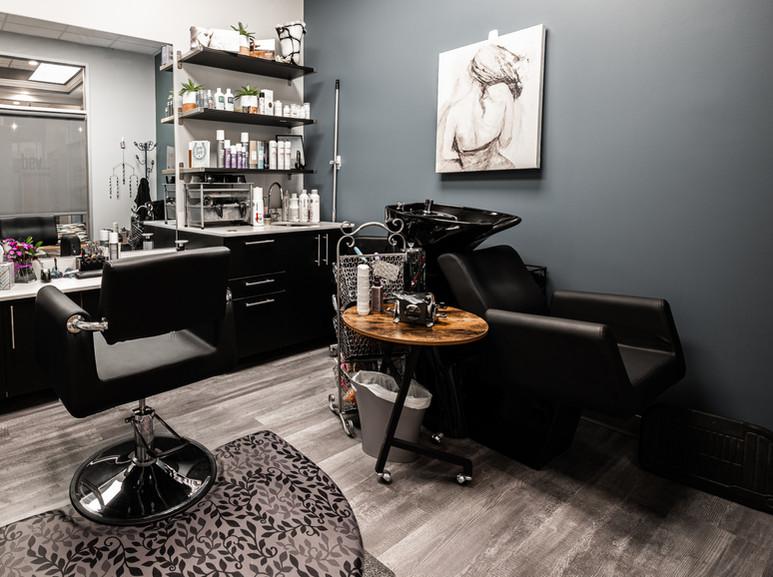 Hair stylist suite