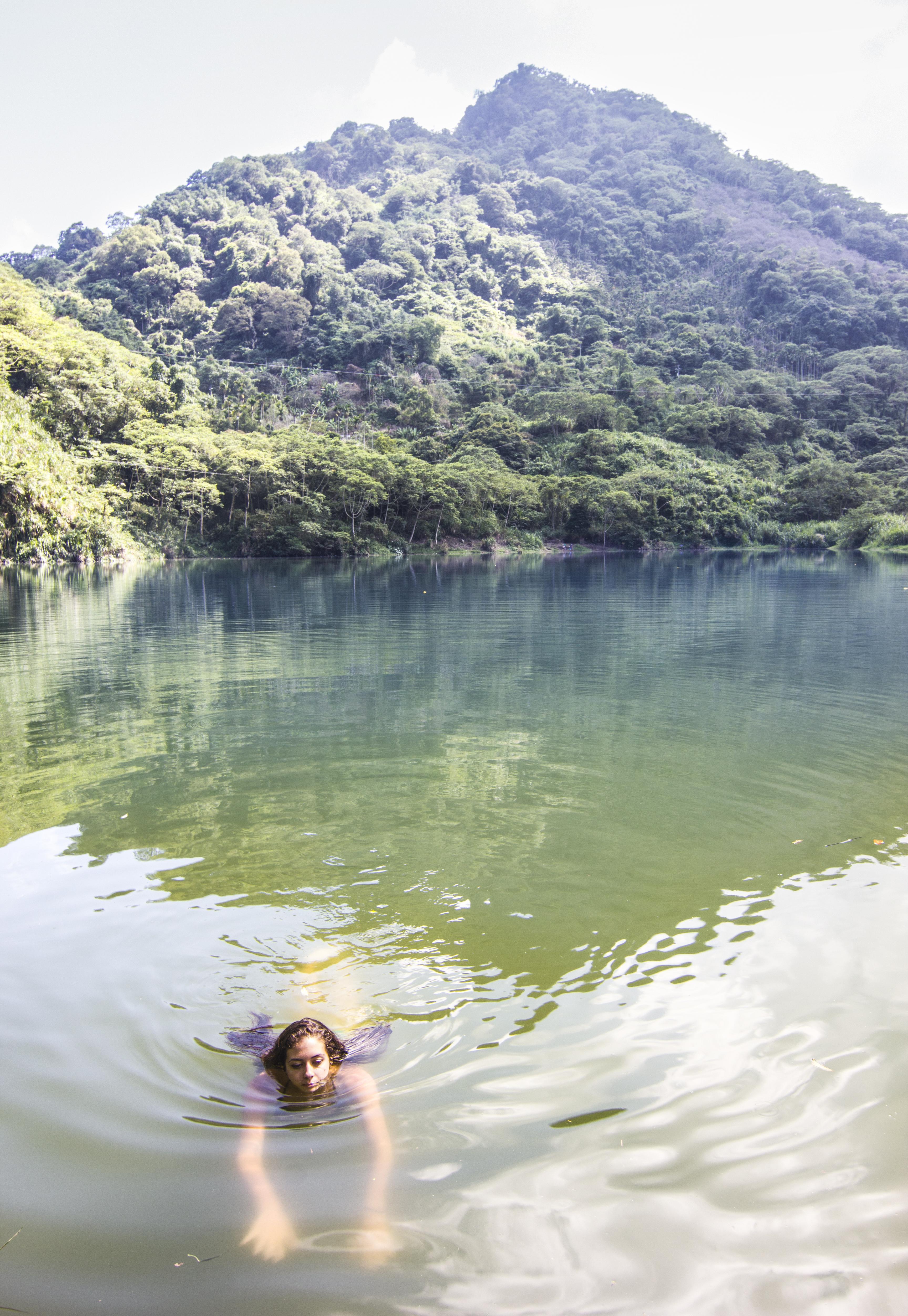 Earthquake Lakes Swim