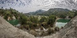 Nanxi Earthquake Lakes View Pano