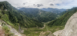 Central Taiwan Mountain View Pano Reduced