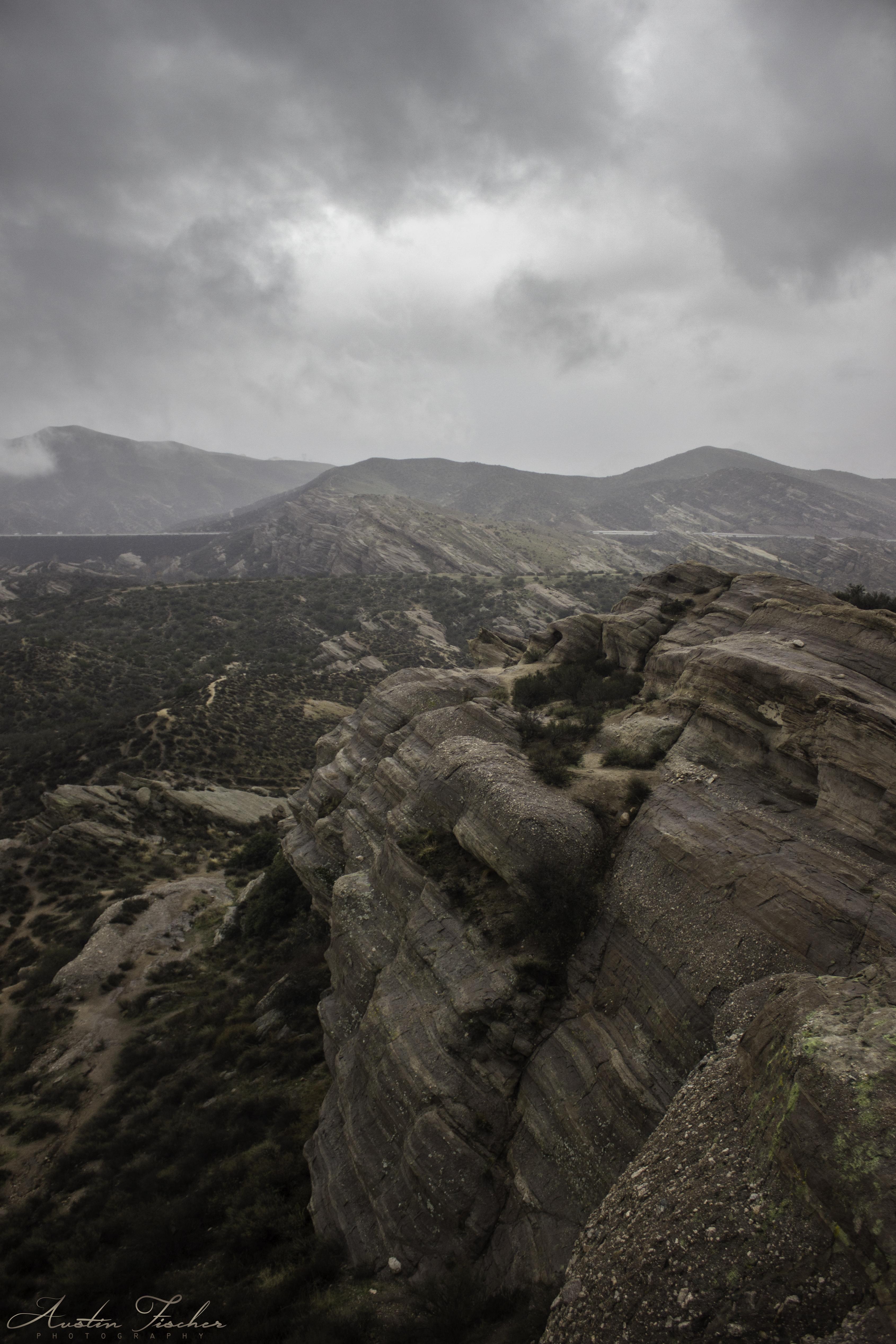 Vasquez Rocks Landscape