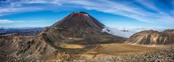 Mount Ngauruhoe Pano