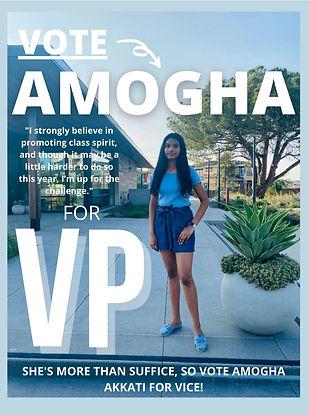 VP Poster - Amogha Akkati - Amogha Akkat