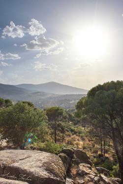 Pinos Reales Mountain Sunset