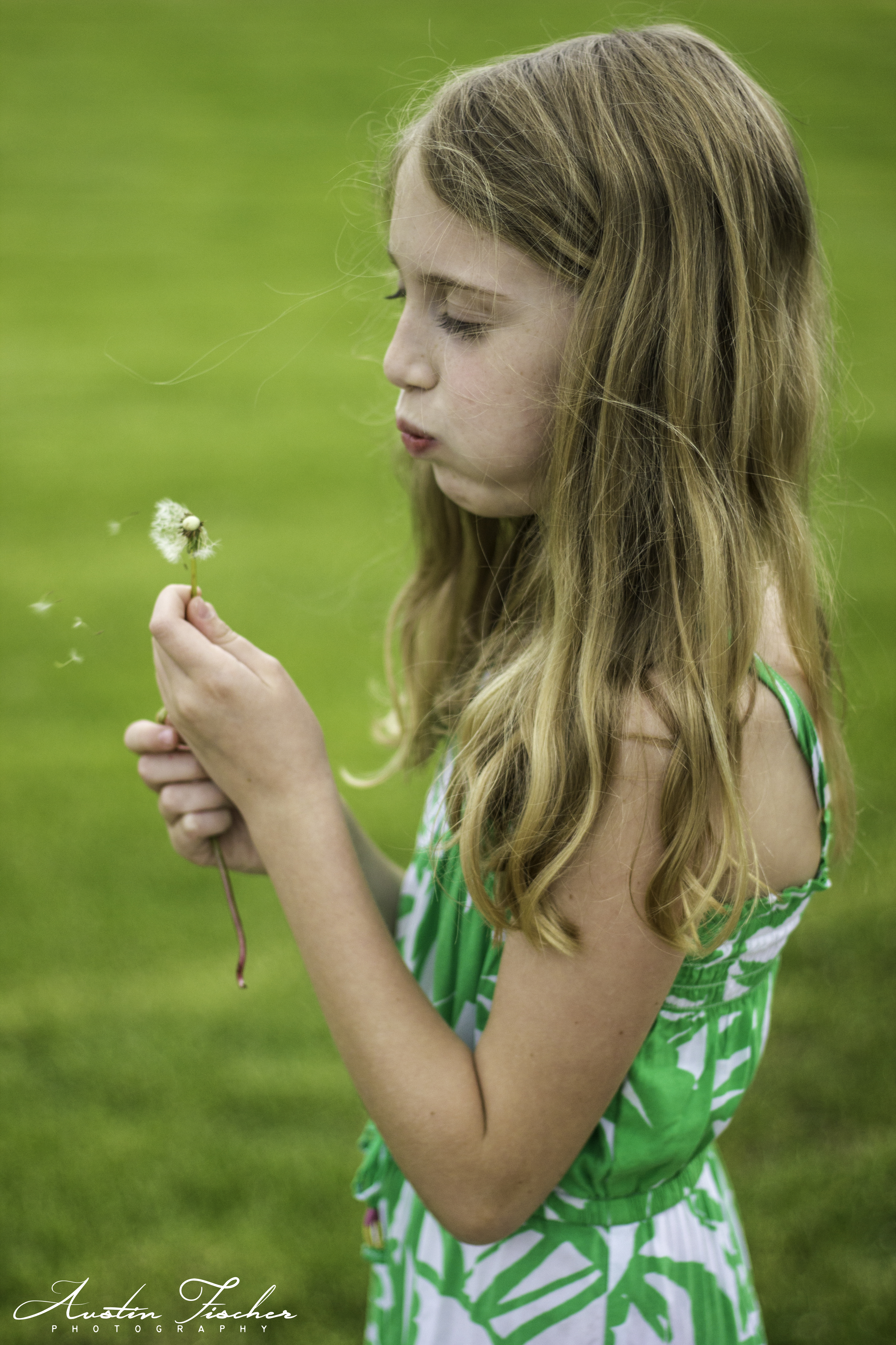 Talia Dandelion Portrait