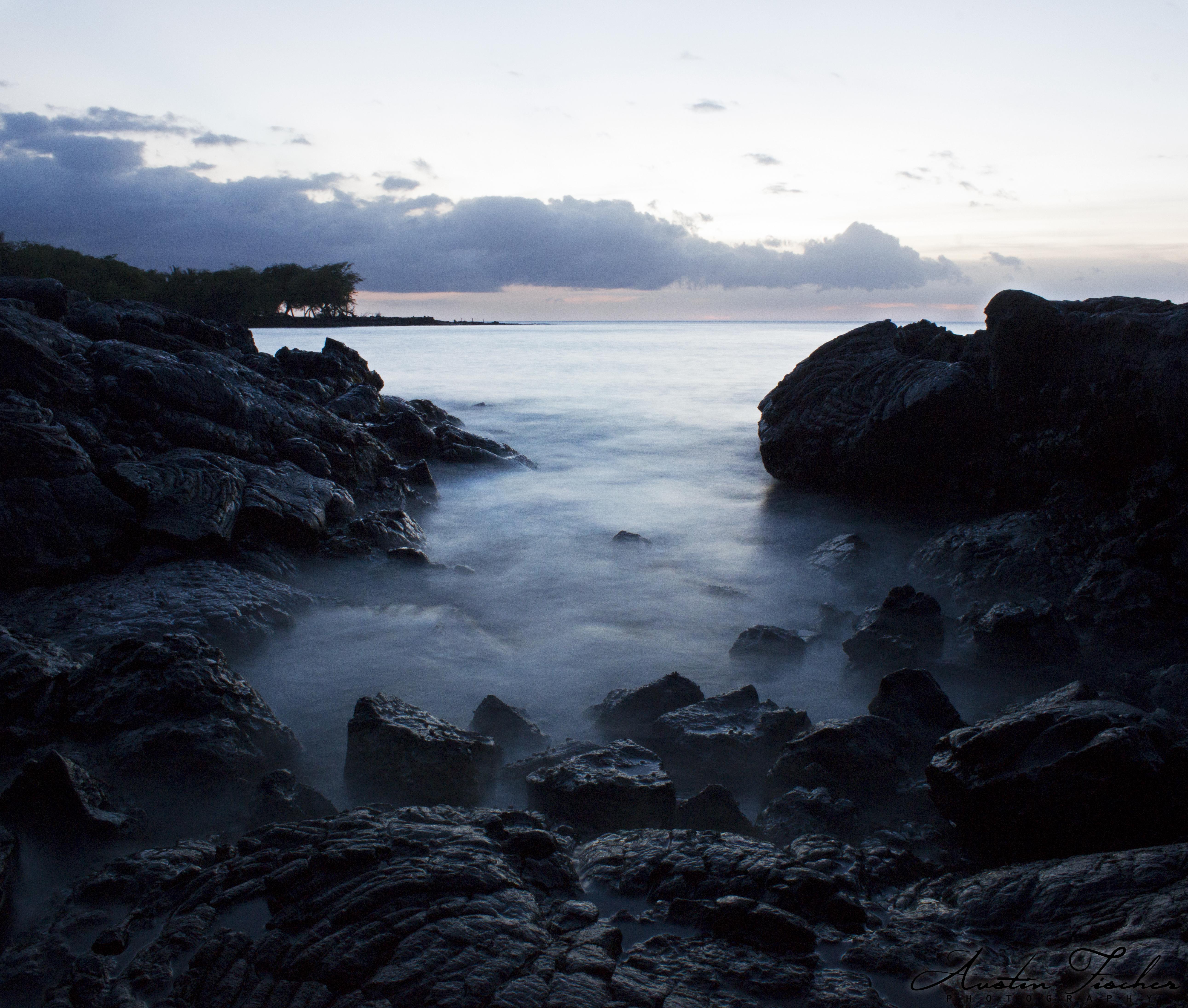 Kiholo Bay Dusk