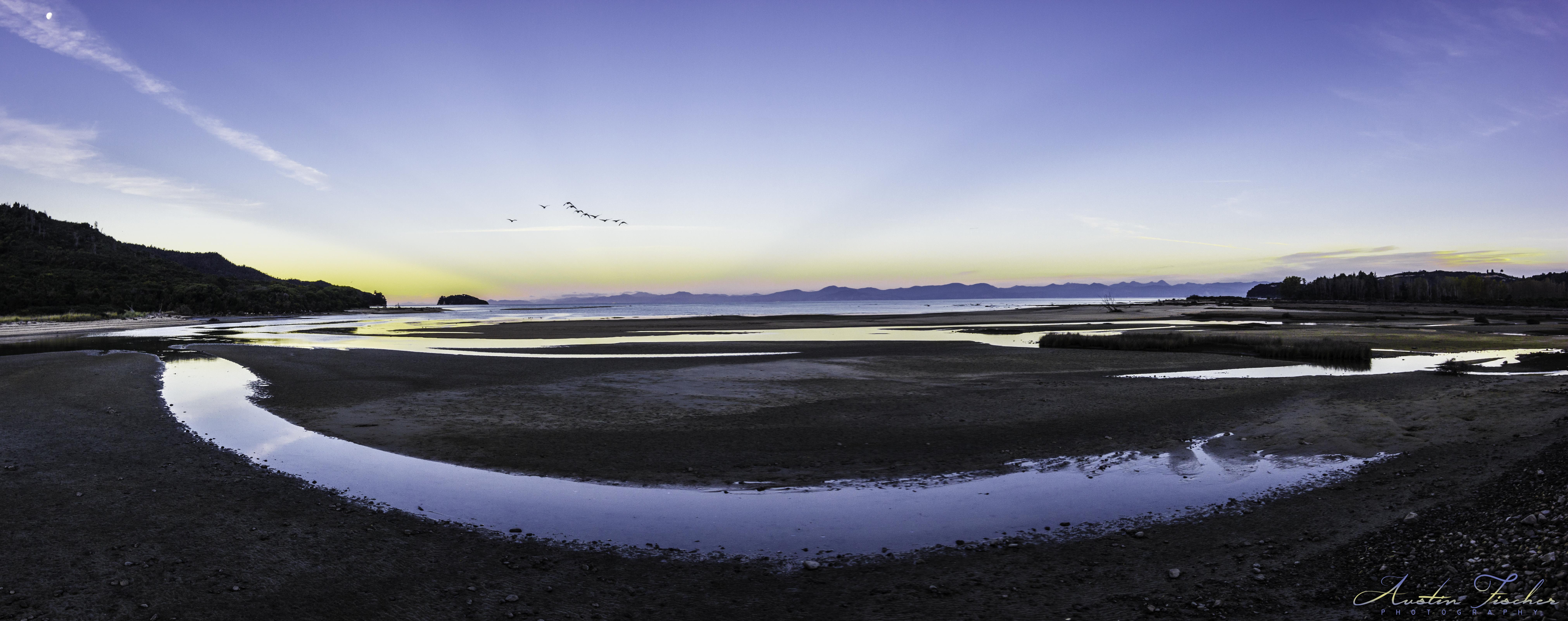 Abel Tasman Coast Pano