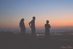 Sunset Conversation Fade