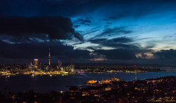 Mt Victoria Night Pano