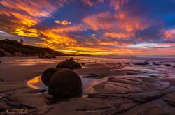 Moeraki Sunset HDR